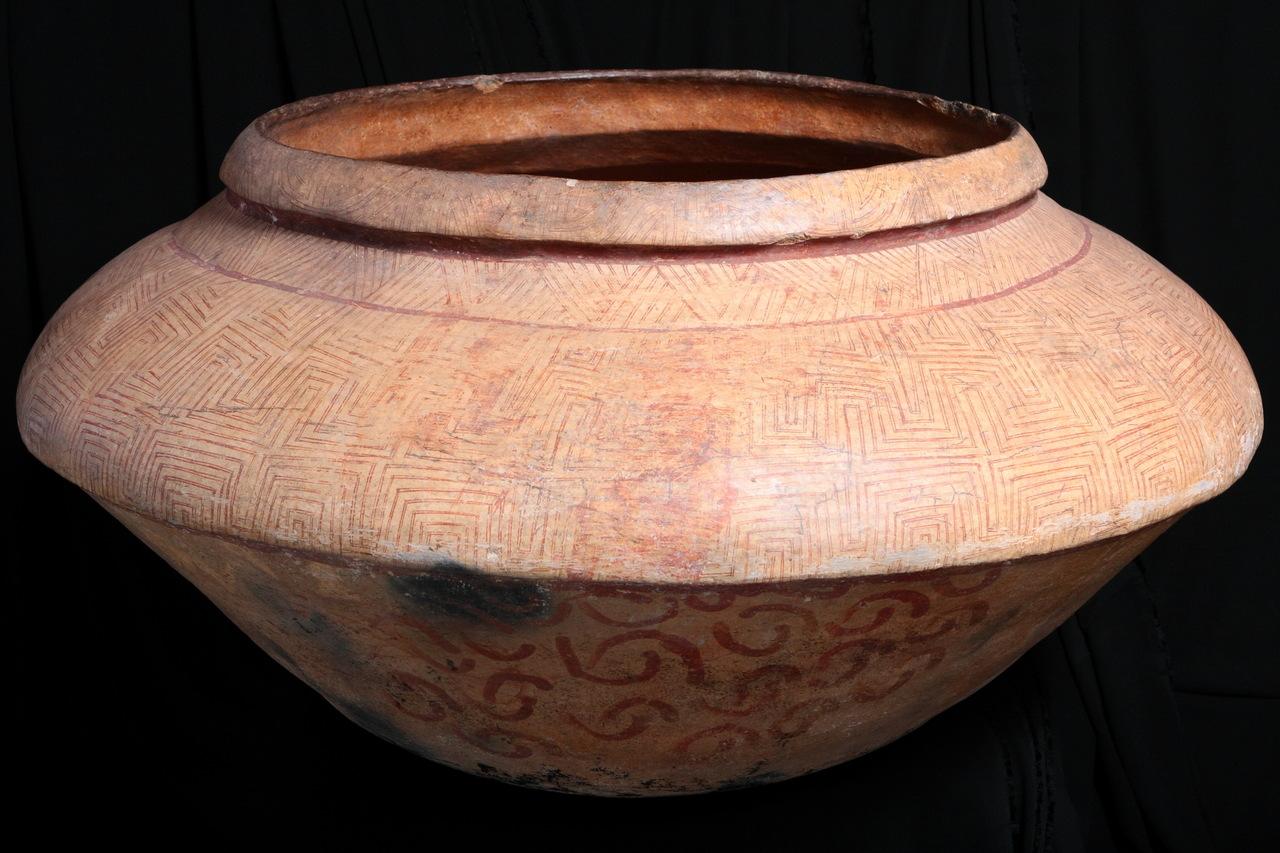 Urna Funerária da tradição arqueológica Tupiguarani.