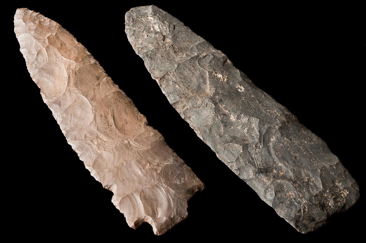 Pontas de projétil: Arqueologia Norte Americana